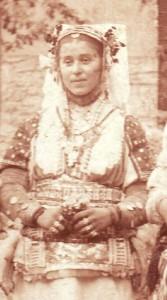 баба Цвета Онуфриевска  од Лешок, Македонија