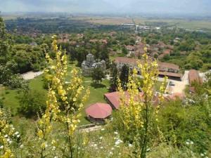 фото: Митко Спироски, Лешок,15 јуни 2016, Лешочки манастир, поглед од Кале