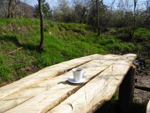 Утринско кафе на Лешочко кале