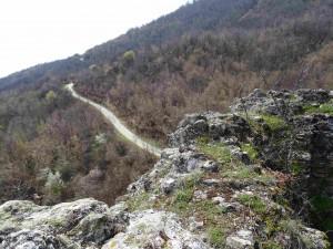 Поглед кон Варвара од Лешочко кале
