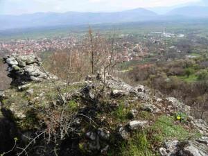 Поглед кон Полог од Лешочко кале