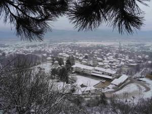 Foto: Mitko Spiroski, Lesok, 29.11.2016, Lesocki manastir vo sneg