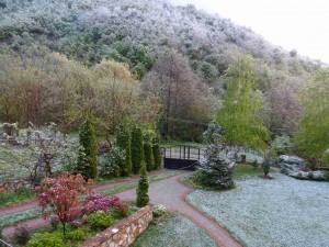 фото: Митко Спироски, Лешок, Македонија, Зима во април на Кале во Лешок