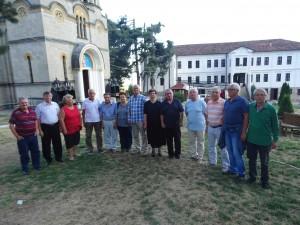 Фото: Митко Спироски, 26 Август 2017, Втора Средба на Генерацијата 1949/50 од Лешок во Лешочкиот манастир