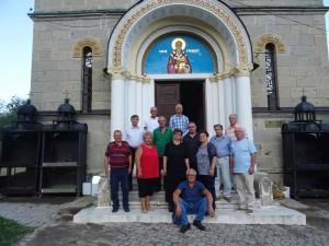 Фото: Митко Спироски, 26 Август 2017, Втора Средба на Генерацијата 1949/50 ученици од Лешок во Лешочкиот манастир