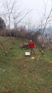 Фото: Митко Спироски, Припрема за празнување Прочка -2017 на Лешочко кале