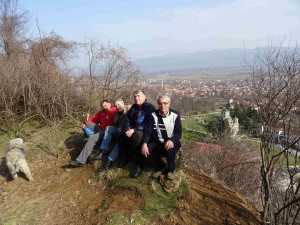 Фото: Митко Спироски, Лешок. 26 февруари 2017, Прочка  на Лешочко кале