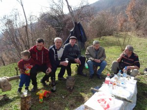 Фото: Митко Спироски, Лешок, 26 Февруари 2017- Прочка на Лешочко кале