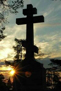 Крст - Паметник од Валаамскиот манастир