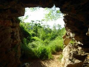 Фото: Митко Спироски, Лешок, 23.05.2016, Поглед од  тунелот кон влезот од Лешочкото кале